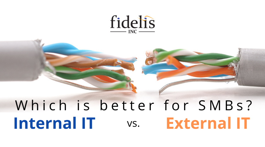 Internal vs. external IT: Which is better for SMBs?